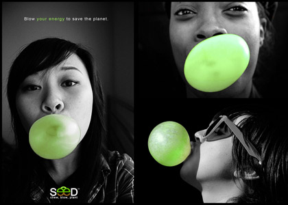 saving the planet by chewing gum